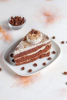 ケーキの品揃え。