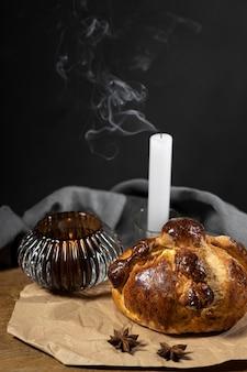 죽은 자의 전통 빵 구색