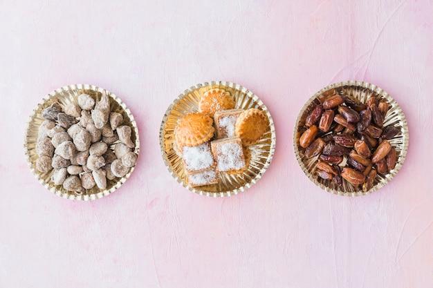 Ассортимент традиционных восточных сладостей