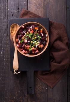 Assortment vegetable salad