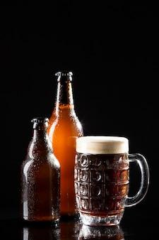 Assortimento con gustosa birra americana