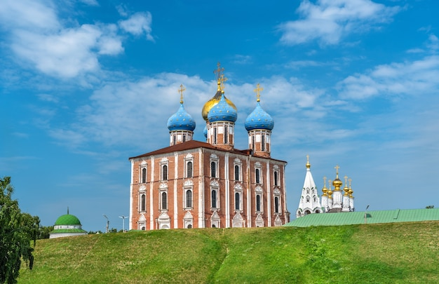 Assumption cathedral of ryazan kremlin, the golden ring of russia
