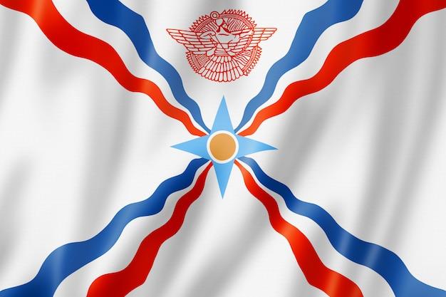 Ассирийцы этнический флаг