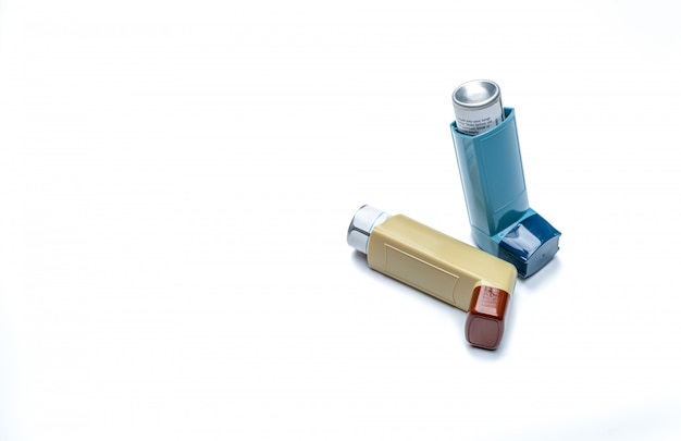 Asthma inhaler. asthma controller, reliever equipment