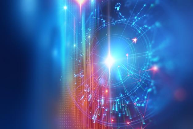 占星術と錬金術記号の背景のイラスト