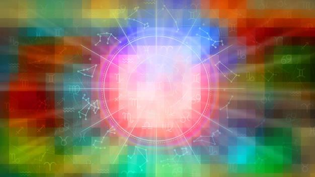 점성술 별자리 패턴 질감 배경, 그래픽 디자인
