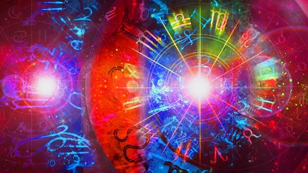 Астрология гороскоп узор текстуры фона, графический дизайн