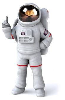 Астронавт анимация