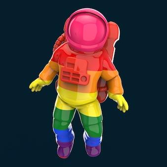 Astronaut concept - 3d illustration