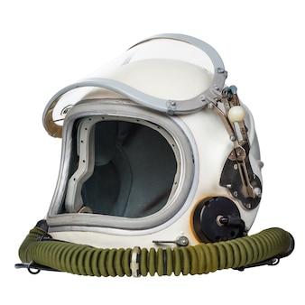 白い背景で隔離の宇宙飛行士の宇宙服。