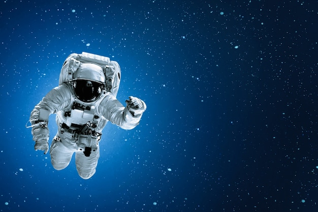 Astronaut on universe
