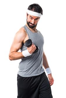 Athlete body gym weight healthy