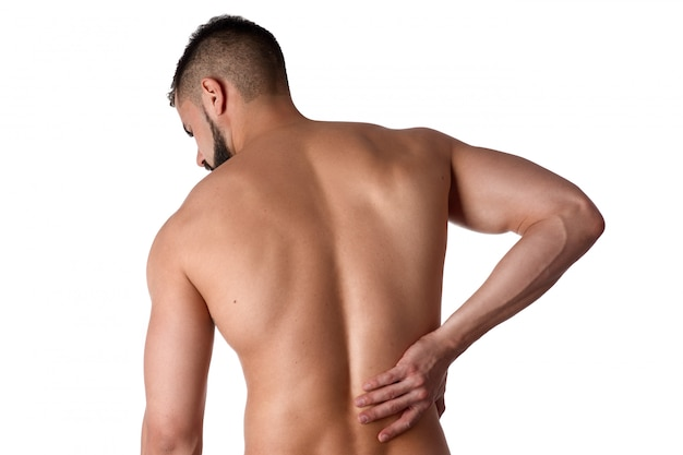 Athlete clings to sore back