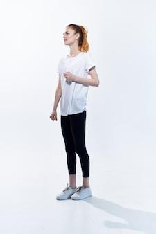 アスレチック女性トレーニングライフスタイルエネルギー有酸素運動