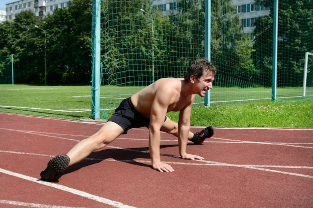 Athletic workout