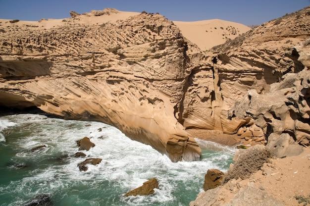 Atlantic coast. timassinin. morocco. africa