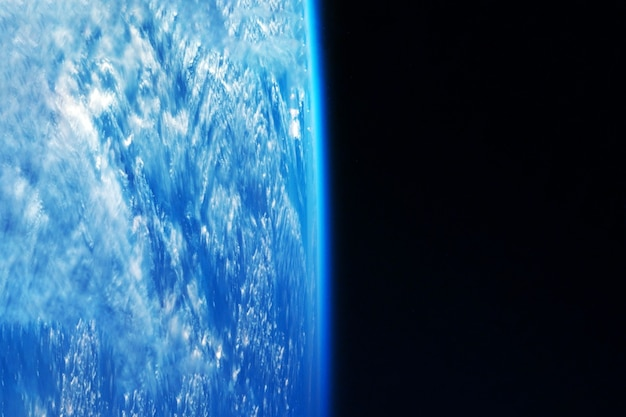 Atmosphere of the earth. elements of this image were furnished by nasa. high quality photo