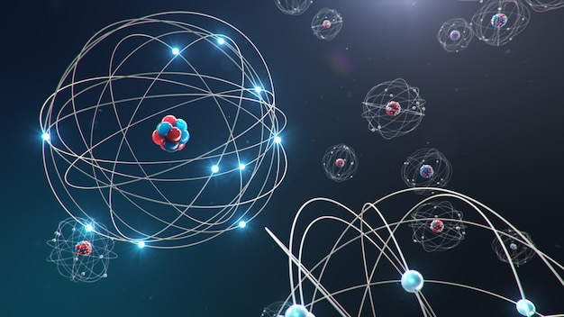 Atomic structure is the smallest level of matter that forms chemical elements.