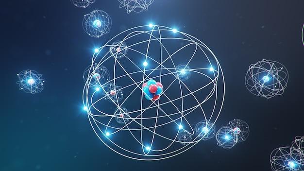 原子構造は化学元素を形成する物質の最小レベルです