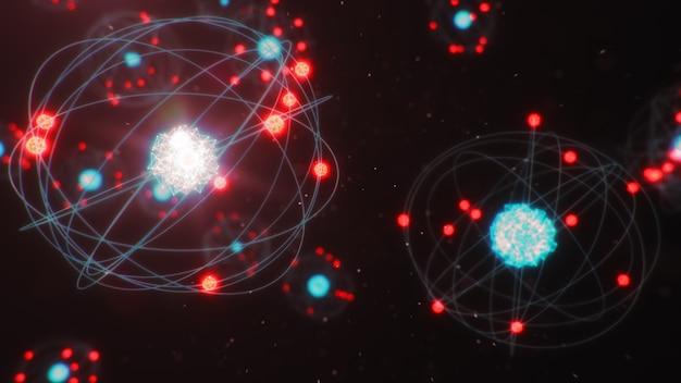 원자 구조는 화학 원소를 형성하는 가장 작은 수준의 물질입니다.