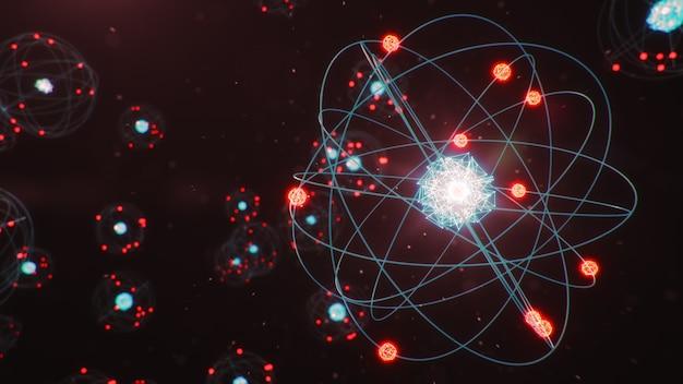 Атомная структура - это наименьший уровень вещества, из которого состоят химические элементы.