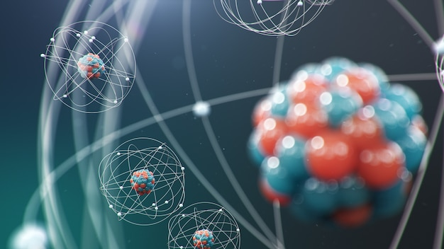 Atomic structure.