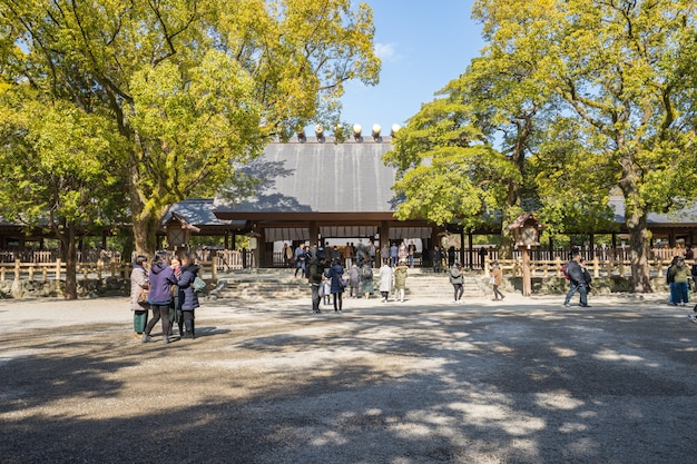 Atsuta shrine is one of shinto's most important shrines