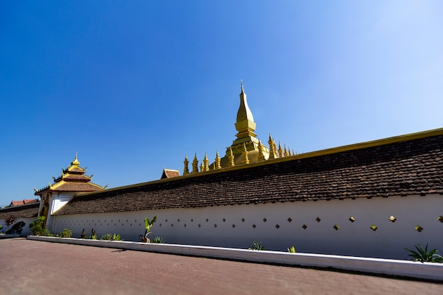 Attractions wat phra that phra nakhon, wiang chan, lao pdr