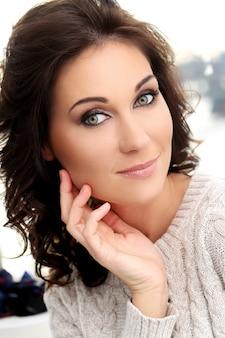 Attractive cute woman