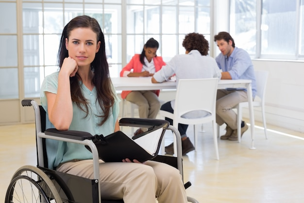 魅力的な障害のある実業家