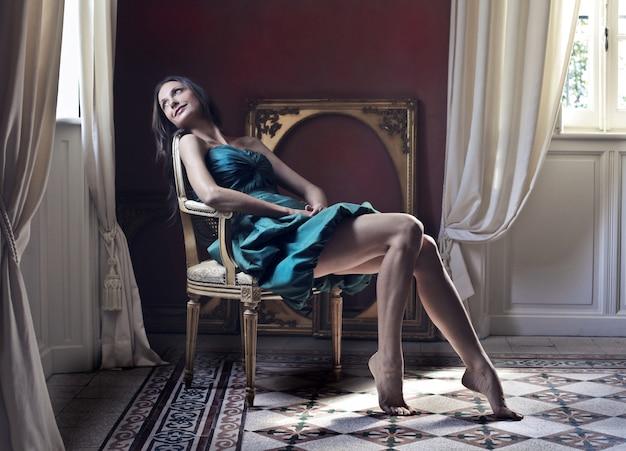 Attractive elegant woman