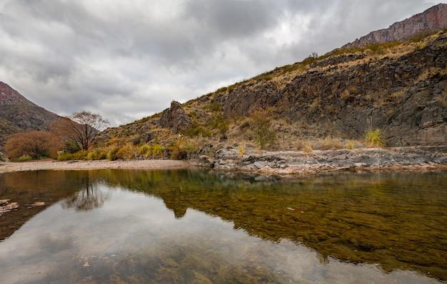 Atuel canyon  - メンドーサ、アルゼンチン。