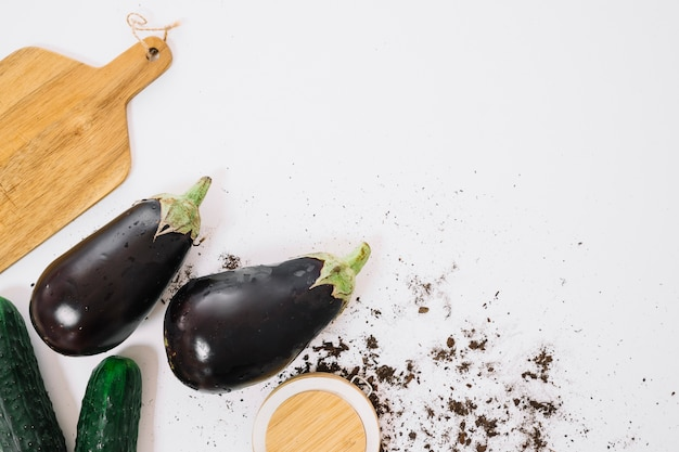 Aubergine composition