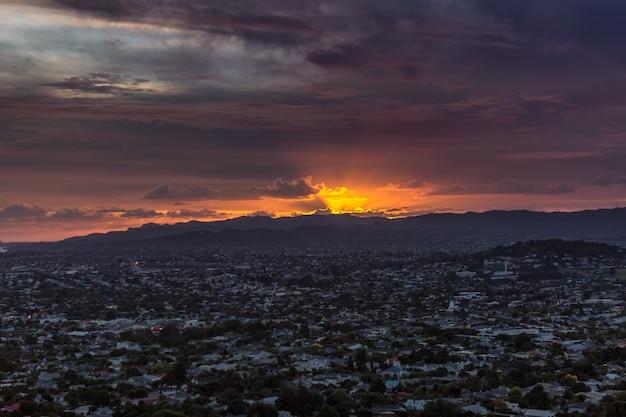 Окленд, вид на город