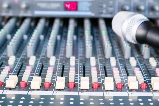 Audio sound mixer music. adjist sound by volume.