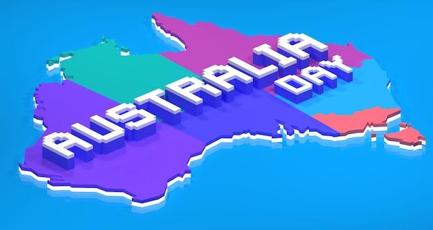 オーストラリアの日イラスト