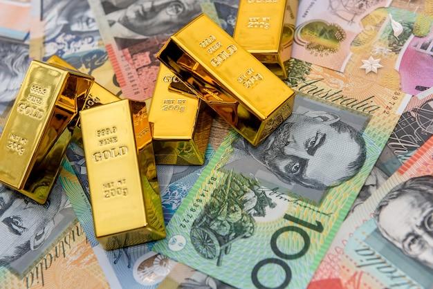 金地金としてのオーストラリアドル紙幣