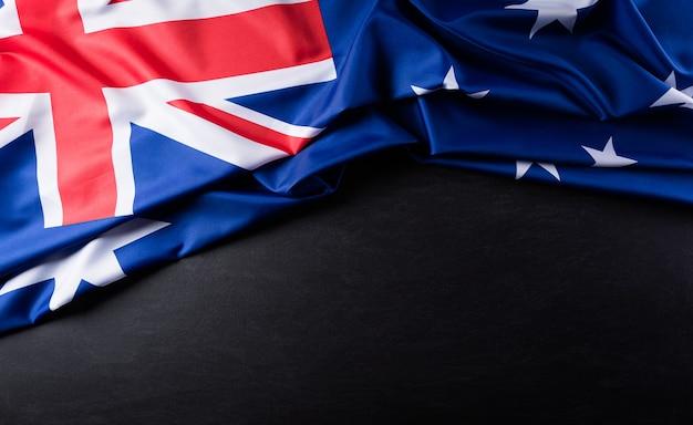 Фон австралийского флага.