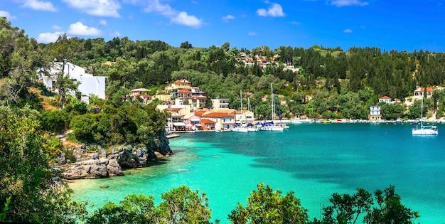 本物のギリシャ-美しいパクシ島。イオニア諸島