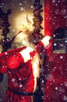 Authentic santa claus
