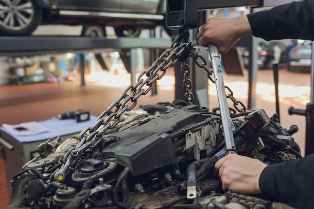 판매, 타이밍, 텐셔너, 산업용 롤러 체인, 기술에 대한 자동 분석에 대한 자동 엔진 수리