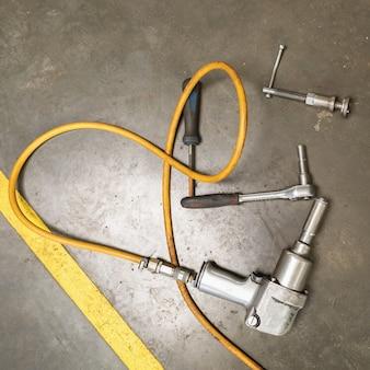자동차 정비사 작업 도구, 평면도