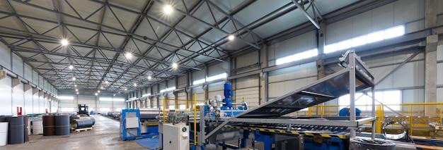 現代のソーラーシリコン工場の自動化された生産ライン
