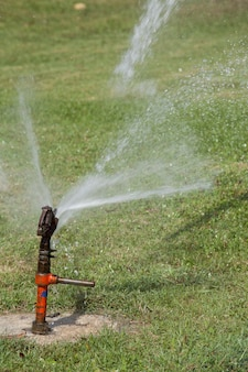Automated underground sprinkler