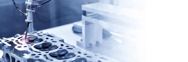 정밀 검사용 자동 좌표계 Cmm 엔진 블록 프리미엄 사진