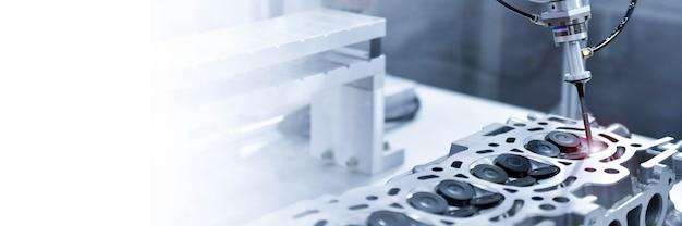 정밀 엔진 블록 복사 공간 검사용 자동 좌표 측정기 Cmm 프리미엄 사진
