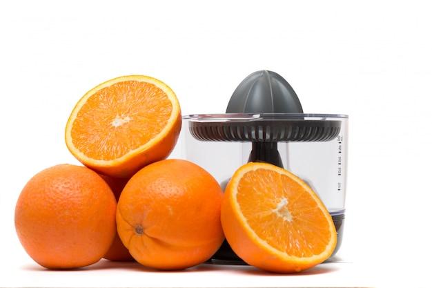 Automatic orange juicer machine