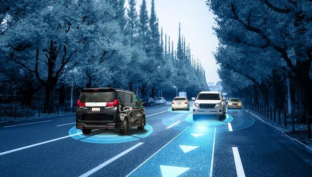 무인 모드 차량 제어의 안전을위한 자율 차량 센서 시스템 개념