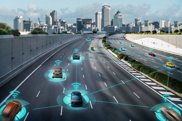 Autonomous car sensor system concept for safety of driverless mode car control