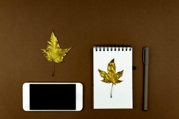 秋のビジネスコンセプト